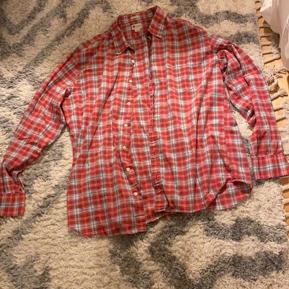 Button down men's Long sleeve shirt J.Crew 36 / 36